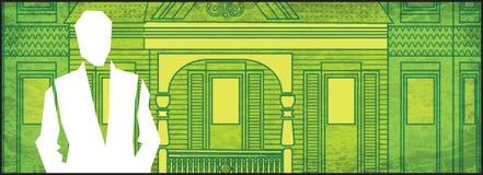 Casa do dinheiro dos bens imobiliários Fotografia de Stock Royalty Free