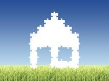 Casa do enigma Foto de Stock
