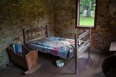 Casa do escravo em South Carolina fotos de stock