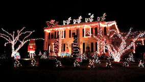 Casa do espírito do Natal video estoque