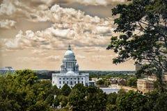 Casa do estado Foto de Stock Royalty Free