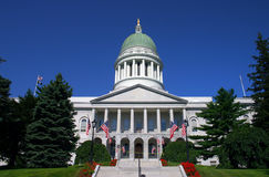 Casa do estado de Maine, Augusta Foto de Stock