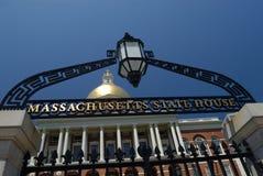 Casa do estado de Massachusetts Imagem de Stock Royalty Free