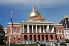 Casa do estado de Massachusetts fotografia de stock