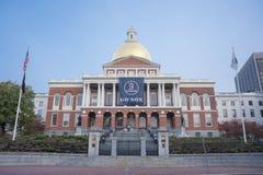 A casa do estado de Massachusetts em Boston, miliampère Fotografia de Stock Royalty Free