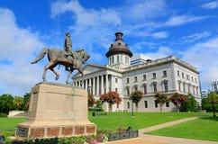 Casa do estado de South Carolina imagens de stock royalty free
