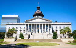 Casa do estado de South Carolina Fotografia de Stock