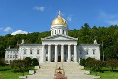 Casa do estado de Vermont, Montpelier Fotografia de Stock Royalty Free