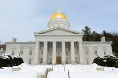 Casa do estado de Vermont, Montpelier imagem de stock
