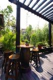 Casa do estilo chinês fotografia de stock