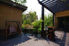 Casa do estilo chinês fotos de stock royalty free