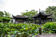 Casa do estilo de China Imagens de Stock Royalty Free