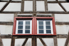 Casa do estilo de Tudor Imagem de Stock Royalty Free