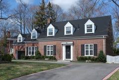 Casa do estilo do bacalhau de cabo Foto de Stock Royalty Free