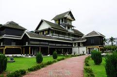 Casa do estilo do Malay Fotos de Stock Royalty Free