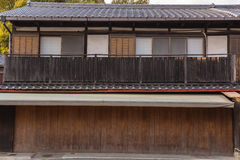 Casa do estilo japonês Foto de Stock
