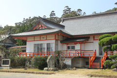 Casa do estilo japonês Fotos de Stock Royalty Free