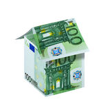 Casa do Euro Imagem de Stock Royalty Free