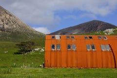 Casa do ferro ondulado na ilha de Skye Fotos de Stock Royalty Free
