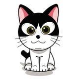 Casa do gato para fazer sua sensação confortável ilustração royalty free