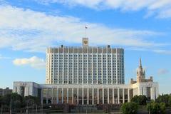 Casa do governo da Federação Russa Imagem de Stock Royalty Free