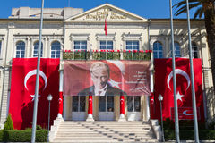 Casa do governo de Izmir Fotografia de Stock Royalty Free