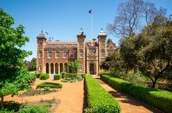 Casa do governo e jardim ajardinado no centro da cidade de Perth Fotografia de Stock
