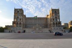 Casa do governo em Baku Imagem de Stock Royalty Free