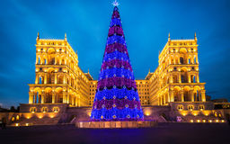 Casa do governo o 3 de janeiro em Azerbai Fotografia de Stock