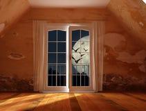 Casa do horror Fotos de Stock Royalty Free
