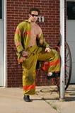 Casa do incêndio Foto de Stock Royalty Free