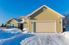 Casa do inverno Foto de Stock