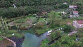 Casa do lago Em Montenegro, na vila filme