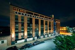Casa do malte do Canal Street, em pouco It?lia, Baltimore, Maryland imagens de stock
