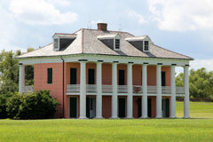 Casa do malus-Beauregard no campo de batalha de Chalmette Fotografia de Stock Royalty Free