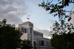 Casa do Ministério dos Negócios Estrangeiros, Armênia fotografia de stock royalty free