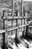 Casa do moinho da mola da aléia Foto de Stock