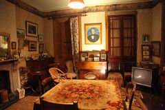 Casa do monte do Rouse - sala de estar Imagens de Stock