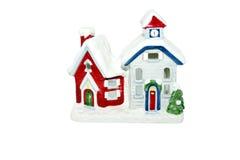 Casa do Natal fotos de stock