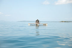 Casa do oceano Fotografia de Stock Royalty Free