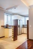 Casa do país - cozinha Imagens de Stock Royalty Free