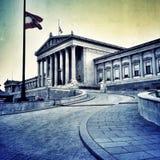 casa do parlament em Viena imagens de stock