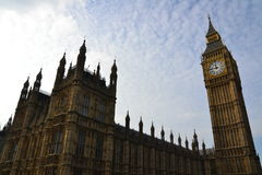 Casa do parlamento | Big Ben Fotografia de Stock Royalty Free