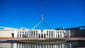 A casa do parlamento de Austrália Fotografia de Stock