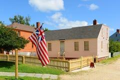 Casa do pavão, Portsmouth, New Hampshire Imagens de Stock