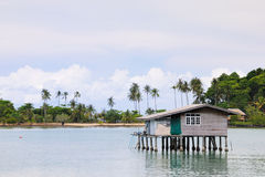 Casa do pescador Imagens de Stock Royalty Free