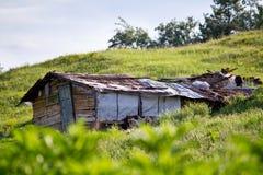 Casa do pobre homem Imagens de Stock Royalty Free