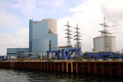 Casa do poder - Kraftwerk Datteln Fotografia de Stock Royalty Free