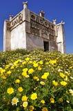 Casa do pombo na ilha de Tinos imagens de stock