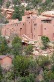 A casa do povoado indígeno Fotografia de Stock